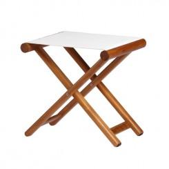 Składany stołek BREATHABLE ecru