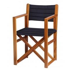 Składane krzesło Minorca OLEFIN granatowe