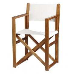 Składane krzesło Minorca OLEFIN ecru