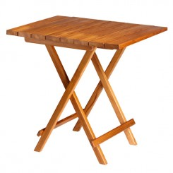 Składany stół TEAK 80x60cm