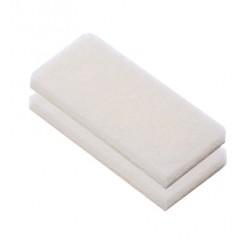 Miękkie gąbki do czyszczenia pokładu 2 szt. /białe