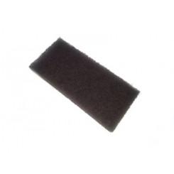 Twarde gąbki do czyszczenia kadłuba i drewna teakowego 2 szt. /brązowe