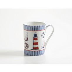 Kubek marynistyczny Marine, porcelana 400ml