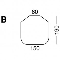 Prześcieradło elastyczne MB MODEL B - białe