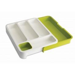 Organizer do szuflady DrawerStore biało-zielony