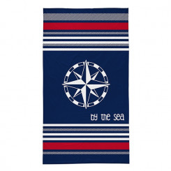 Ręcznik plażowy Róża Wiatrów 90x160