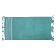 SANTORINI ręcznik plażowy morski